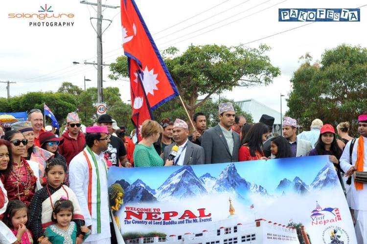 Nepali Participation Information to TV
